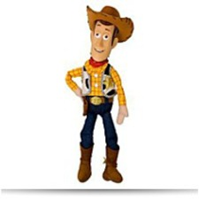 And Pixar 18 Inch Plush Figure Woody