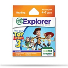 Leap Frog Explorer Learning Game Disneypixar