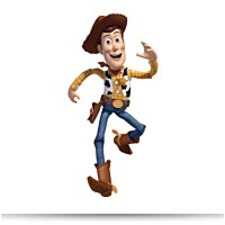 Room Mates RMK1430GM Toy Story Woody