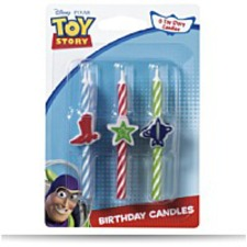 Toy Story 3 Icon Birthday Candles
