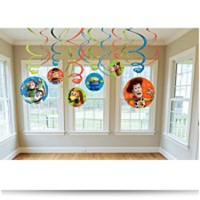 Buy Toy Story Swirl Decorations