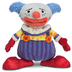 story chuckles clown plush -detailed sculpturing
