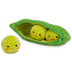 disney story peas-in-a-pod plush zipper limported