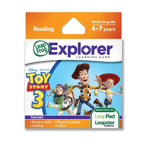 Leap Frog Explorer Learning Game: Disney-pixar Toy Story 3 (works With Leap Pad And Leapster Explorer)