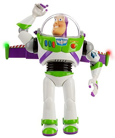 Advanced Talking Buzz Lightyear Action
